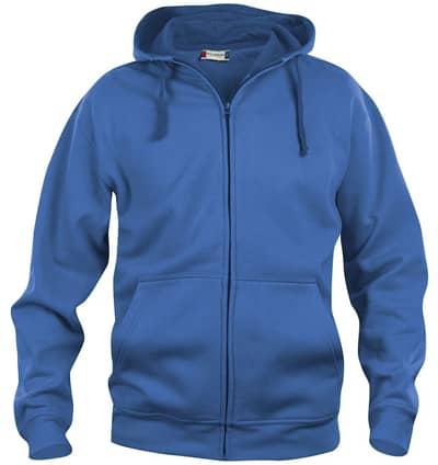 Sweatshirt - Basic Hoody Full Zip - 021034