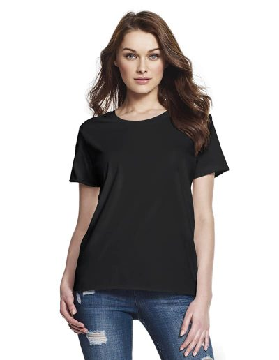 Teeshirt Continental Clothing - Raw Edge Boyfriend - N13