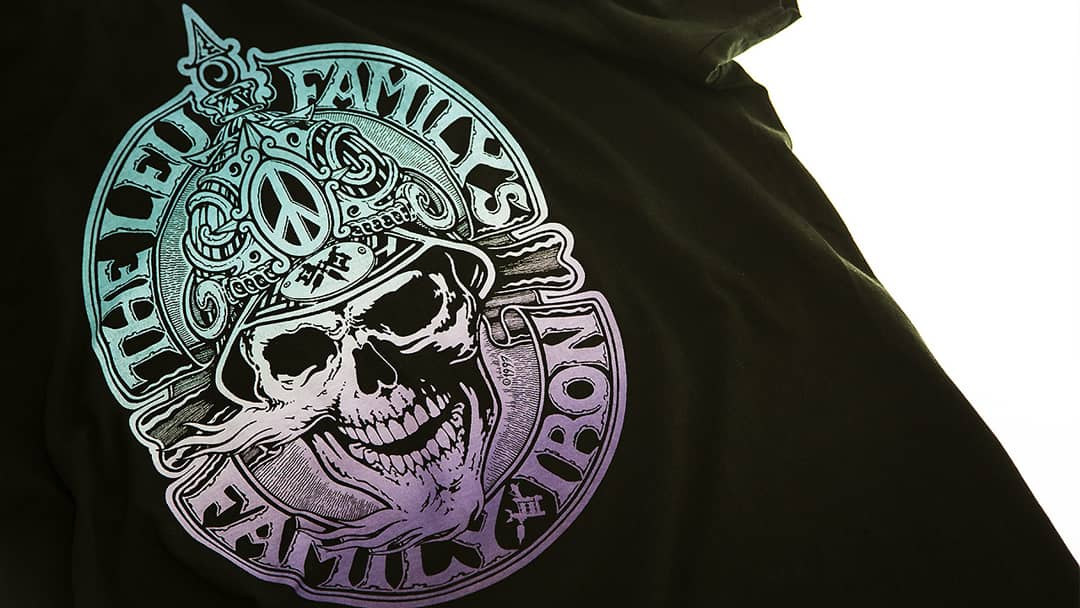 T-shirt tatoueur The Leu Familys - Impression directe