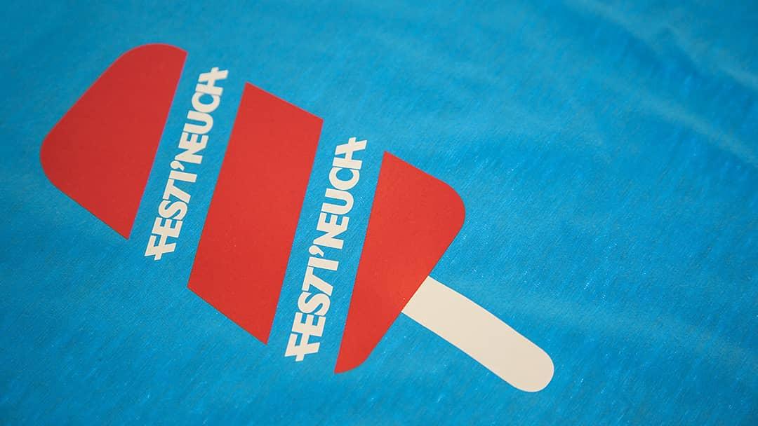 T-shirt Festineuch - Sérigraphie par impression directe