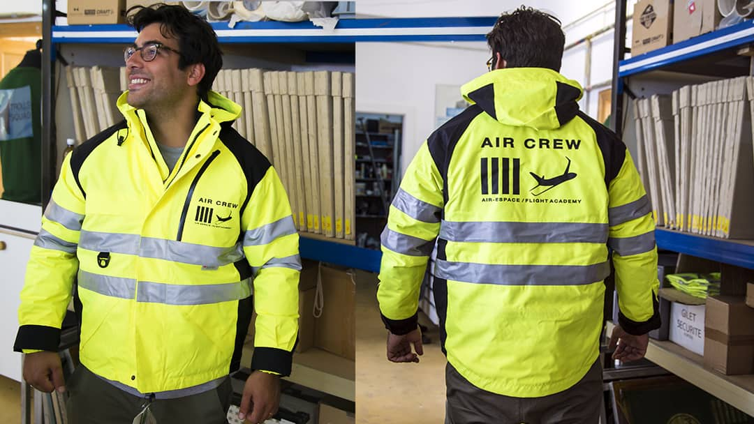 Parka Air crew - Impression indirecte