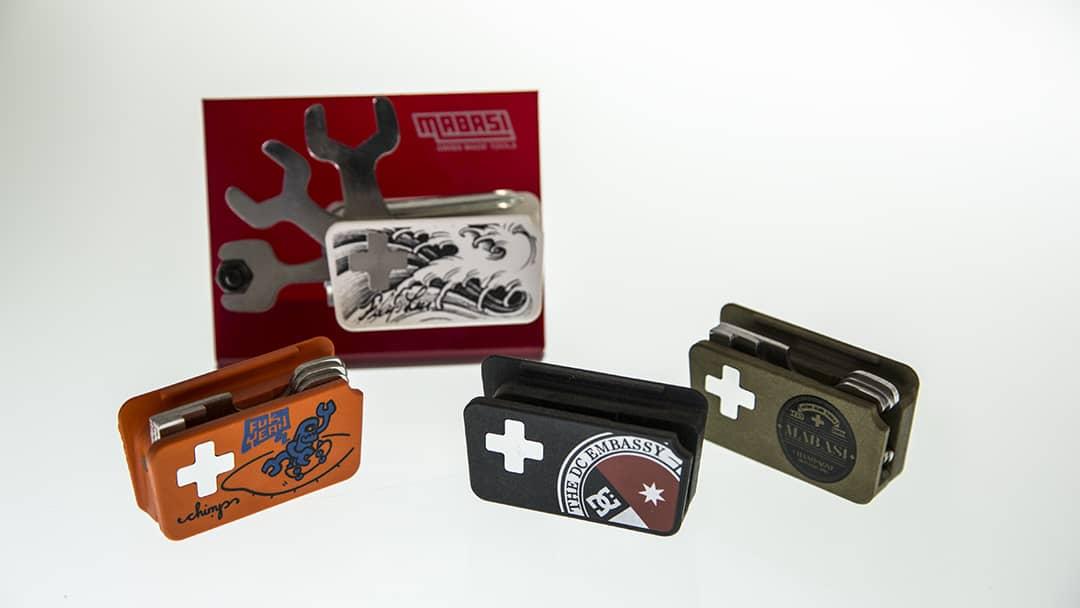 Skate tool Mabasi - Tampographie sur résine