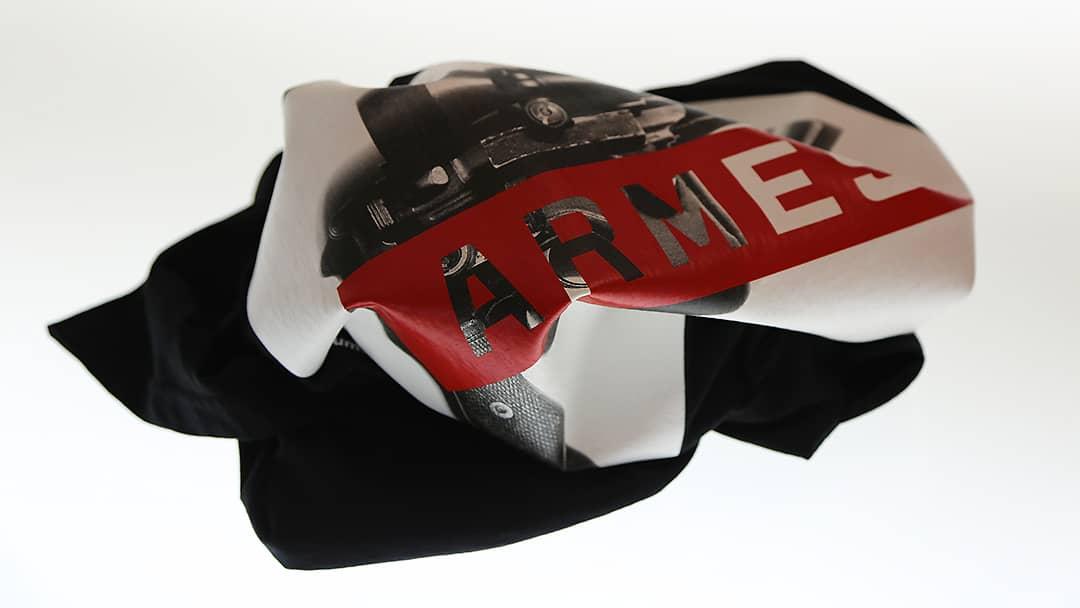 T-shirt Armes - Impression Mabasi Lab Sérigraphie